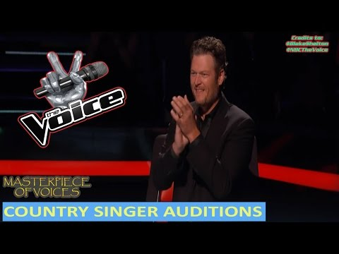BEST COUNTRY SINGER AUDITIONS ON THE VOICE