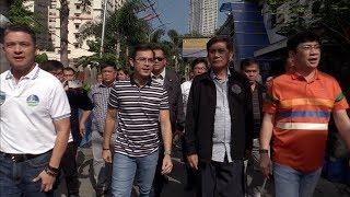 Isko Moreno vows to participate in DENR cleanup of Manila's Malate creek
