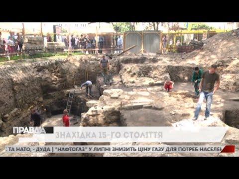 НТА - Незалежне телевізійне агентство: Археологічні розкопки у Львові: знайшли давню каналізацію на місці фонтану