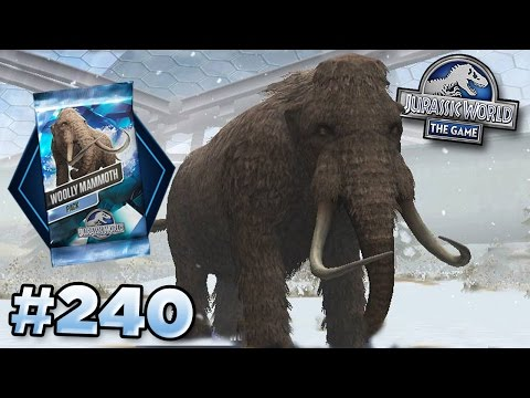 Full Mammoth Tournament! || Jurassic World - The Game - Ep240 HD