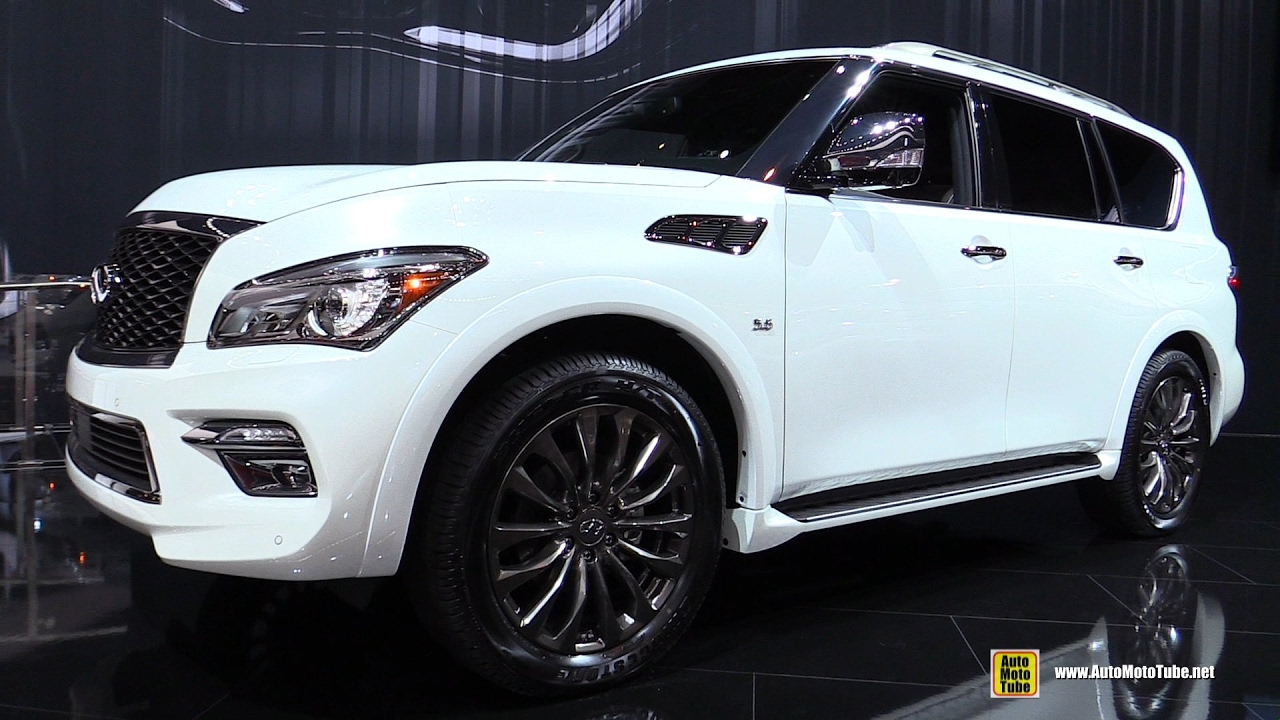 2017 infiniti qx80 limited exterior and interior walkaround 2017 chicago auto show youtube. Black Bedroom Furniture Sets. Home Design Ideas