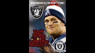 OAKLAND RAIDERS!!! IS BRADY REALLY GOING TO VEGAS...NO!!! SQUASHING RUMORS!!!