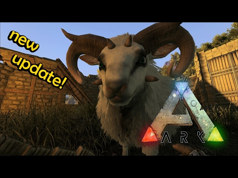 ARK Survival Evolved - facial hair, Baryonyx, Ovis Aries, Purlovia and more [NEW UPDATE]