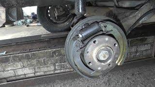 Замена заднего тормозного цилиндра ВАЗ 21099