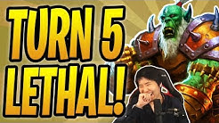 TURN 5 LETHAL WITH NEW ODD PALADIN?! | Prince Liam odd Paladin | Rastakhan's Rumble | Hearthstone