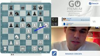 Carlsen vs Cicero28 | Magnus Carlsen takes on chess24 users