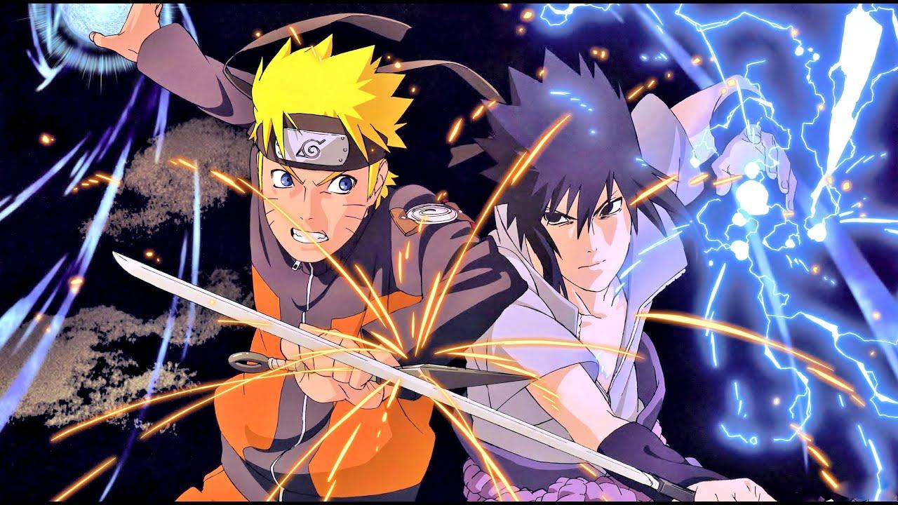 Naruto Uzumaki dan Sasuke Uchiha