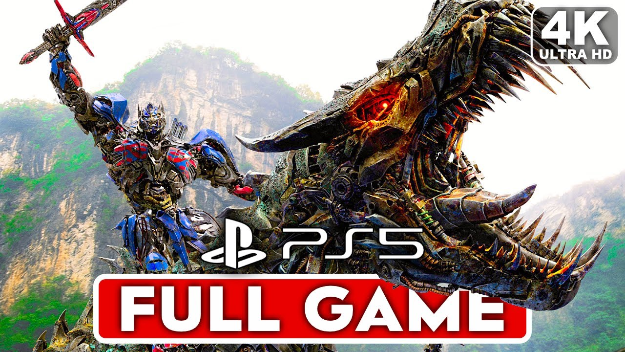 TRANSFORMERS RISE OF THE DARK SPARK PS5 Gameplay Walkthrough FULL GAME [4K ULTRA HD] - No Commentary