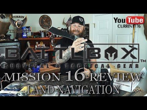 "BattlBox Review Mission 16 ""LAND NAVIGATION"""