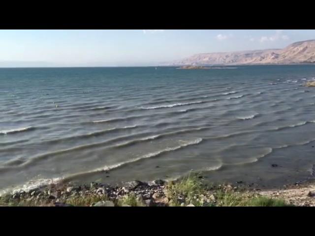 Mer de Galilée ou lac de Tibériade: lieu où Jésus marcha sur leau