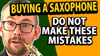 How to check out a saxophone for great, equal sound and smooth mechanics