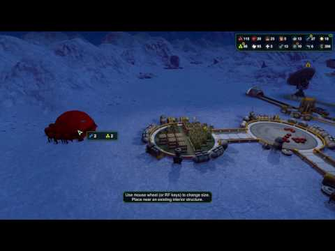 Let's play Planetbase Frozen planet Ep 15 Mega Growth