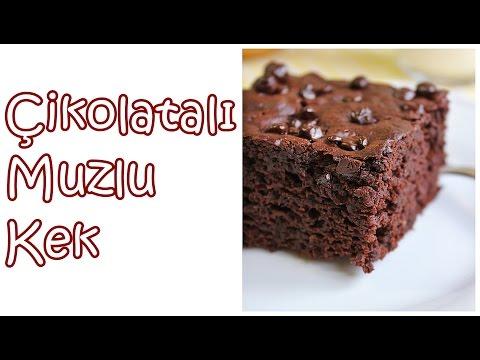 Bol Çikolatalı Muzlu Kek | Bi'mutfak #24
