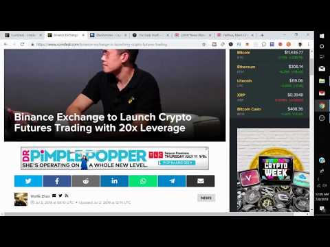 Binance Exchange to Launch Crypto Futures Trading with 20x Leverage