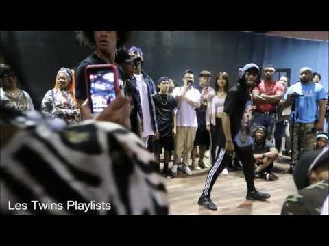 Les Twins I Am Phresh 5/28/17 Cypher with Regi