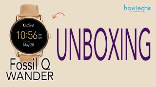 Fossil Q Wander - Unboxing and Review
