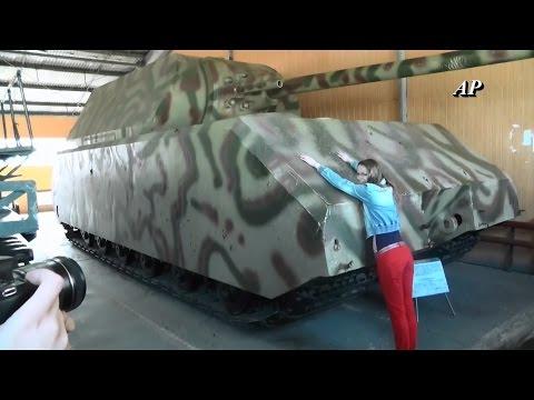 Deutsche Panzer im größten Panzer-Museum der Welt in Russland