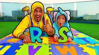 ABC canción aprender inglés alfabeto - bebé rimas canción canciones familiares para los niños