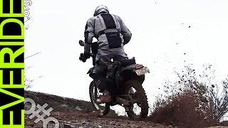 Commuting on a Dual Sport - Racing my Ghost! Midweek Motovlog o#o