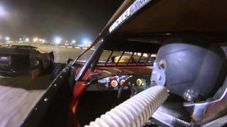 Valvoline Raceway Dirt Late Model Clayton Pyne Jan 31 2015