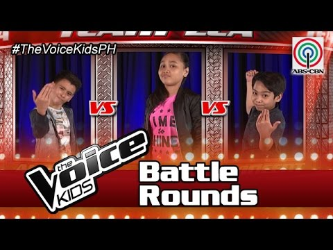"""The Voice Kids Philippines Battle Rounds 2016: """"Counting Stars"""" by Alfred, Kate & Al Vincent"""