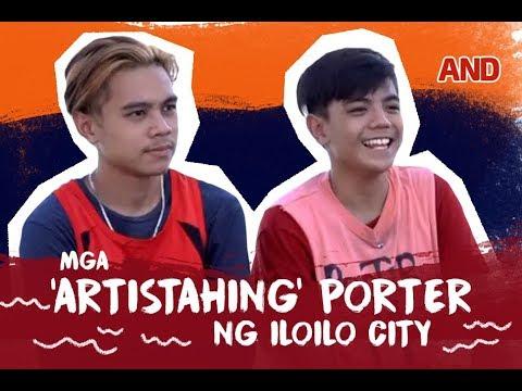 Ang mga 'artistahing' porter ng Iloilo City