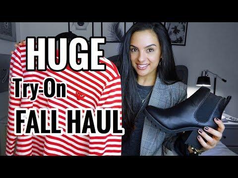 HUGE Fall Fashion Try On Haul -Zauful/Romwe/Shein/NewLook/Target