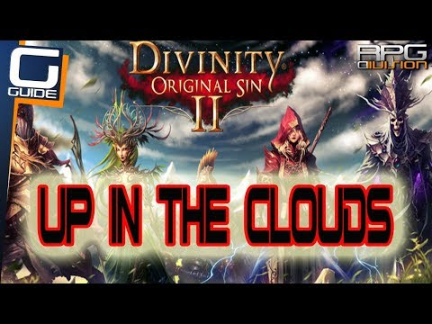 DIVINITY ORIGINAL SIN  2 - Up in the Clouds Quest Walkthrough (Amadia's Temple)