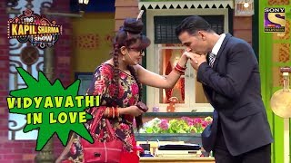 Vidyavathi Head Over Heels For Akshay - The Kapil Sharma Show