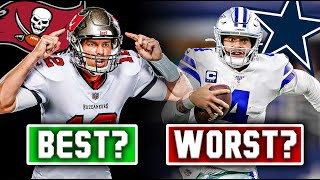 The 5 WORST Offenses In The NFL RIGHT NOW… And The 5 BEST (2020)