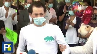 """""""Es un milagro"""": inmigrante salvadoreño sobrevivió al covid-19 tras 111 días en el hospital"""
