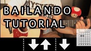 """Como tocar """"Bailando"""" de Enrique Iglesias ft. Descember Bueno - Tutorial Guitarra (HD)"""