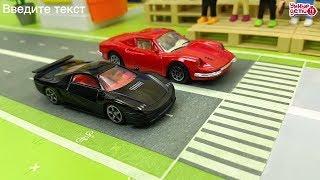 Мультик про машинки СУПЕР Гонки Машинок  Toys car for kids