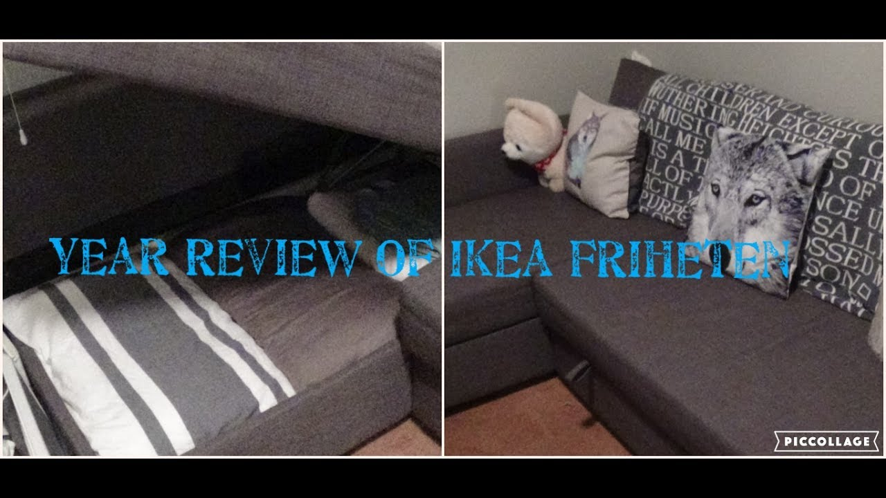 year review of ikea friheten youtube. Black Bedroom Furniture Sets. Home Design Ideas