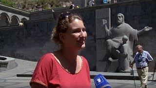 Ֆրանսիացի լրագրողները բացահայտում են Հայաստանը