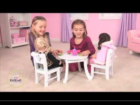 Lil Doll Table U0026 Chair Set By KidKraft