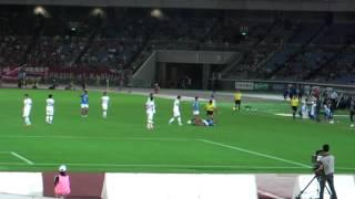 ナビスコ杯準々決勝2回戦  横浜FM:3 VS 鹿島:1