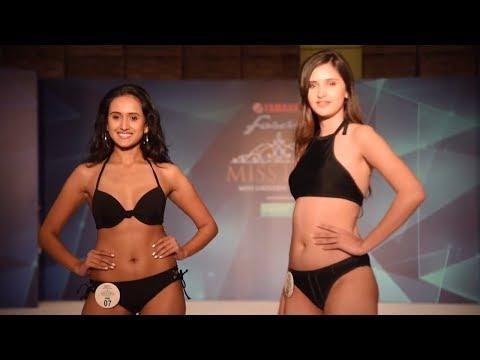 Miss Diva 2017 Contestant's Sizzling Ramp Walk In a Bikini