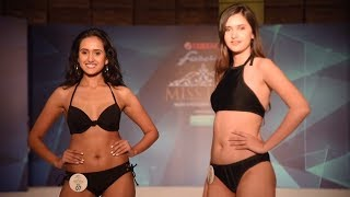 Miss Diva 2017 Contestant's Sizzling Ramp Walk In a Bikini