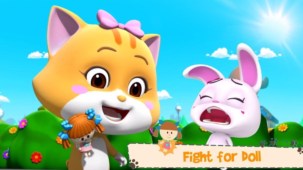 luptă pentru copii - un videoclip animat pentru copii | desene animate amuzante 3d