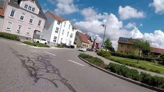 Fahrt durch Graben Neudorf