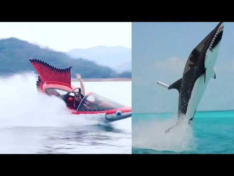 This Seabreacher Watercraft Takes Water Sports To The Next Level