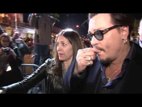 SBIFF 2016 - Maltin Modern Master - Johnny Depp Interview & B-Roll