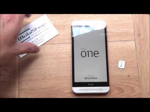 HTC One E8 - распаковка, включение, предварительный обзор