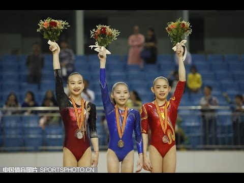 Chinese Nationals 2016 WAG AA
