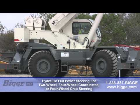 Terex RT555-1 Rough Terrain Crane For Sale - Bigge Crane And Rigging