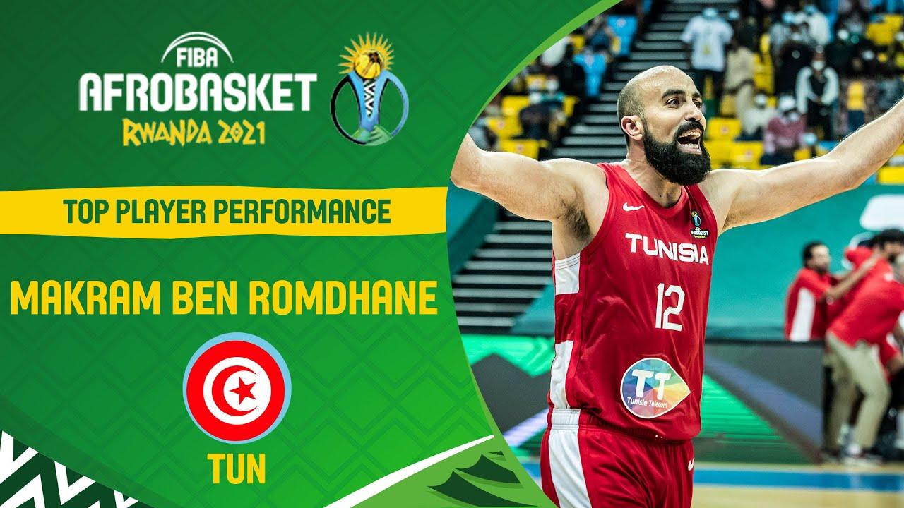 MVP Makram Ben Romdhane | Top Plays | FIBA AfroBasket 2021