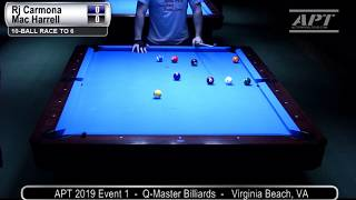 2019 Event 1: RJ Carmona vs Mac Harrell