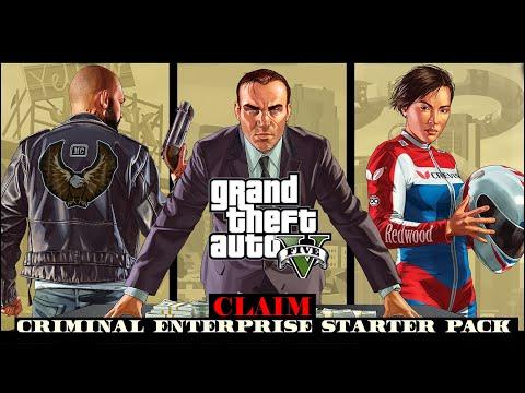 How to claim Criminal Enterprise Starter Pack(Epic Games)