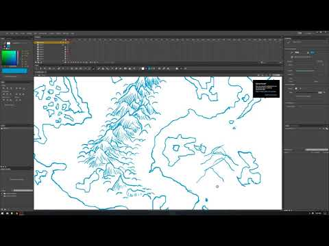 How To Draw Fantasy Art & RPG Maps Ep2 [[:RETCON:]]